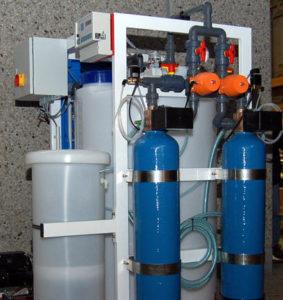 Adoucisseur eau en CO2