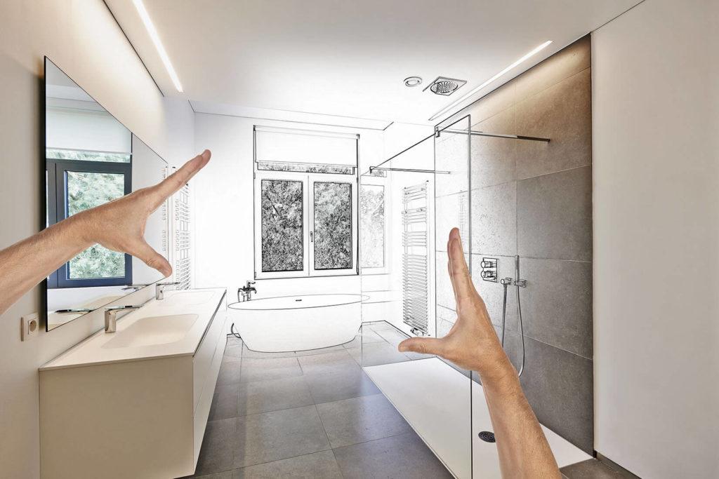 Cr ation de salle de bain comment concevoir sa salle de - Concevoir salle de bain ...