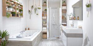 Entretien d'une salle de bain